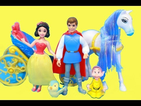 Snow White Fairytale On-The-Go Gift Set REVIEW Mattel