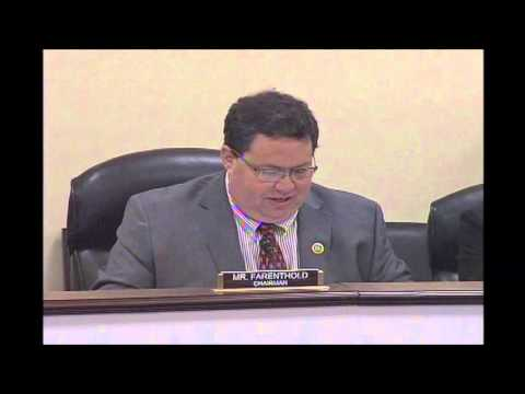 Rep. Farenthold Chairs House Oversight Subcommittee on OPM's Revolving Fund- Questioning Part 1