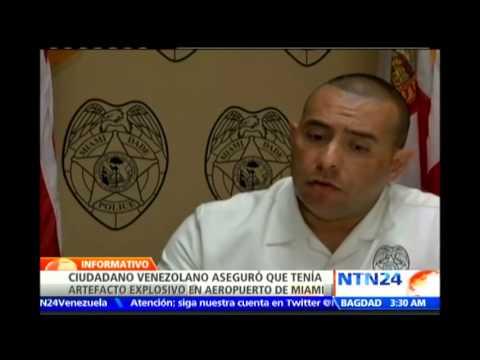 Autoridades de EE.UU. detienen a un hombre por falsa amenaza de bomba en aeropuerto de Miami