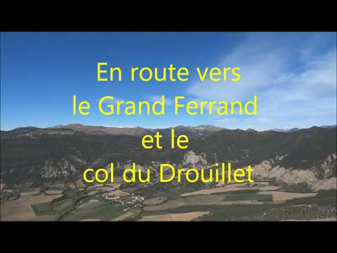 Un vol en autogire vers le massif du Grand Ferrand Video