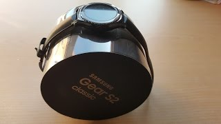 Unboxing Samsung Gear S2 Classic [Español]
