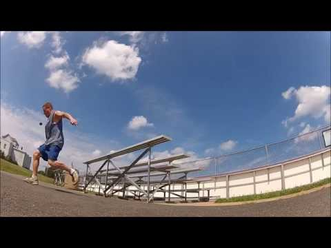 Footbag Stunt Over Bleachers video