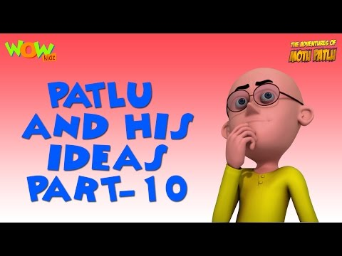 Patlu & His Ideas - Motu Patlu Compilation- Part 10- As seen on Nickelodeon thumbnail