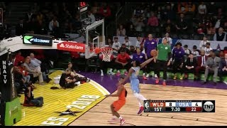 Team USA Threw Its Own Dunk Contest in Rising Stars Challenge