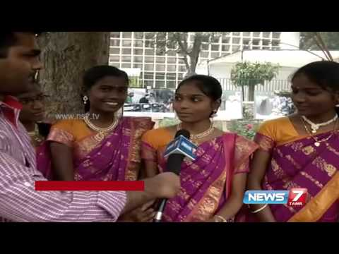 Delhi tamil people celebrates Pongal festival | News7 Tamil
