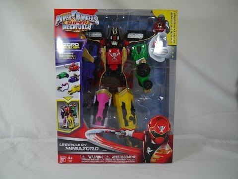 Review: Legendary Megazord (Power Rangers Super Megaforce)