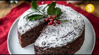 Last Minute Christmas Cake Recipe - SORTEDfood