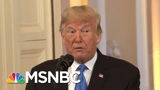 GOP Rep.: Deplorable Trump 'Pissed' On Republicans In WH Remarks | The Beat With Ari Melber | MSNBC