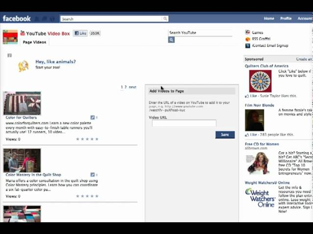 Adding a Video Tab to Your Facebook Business page