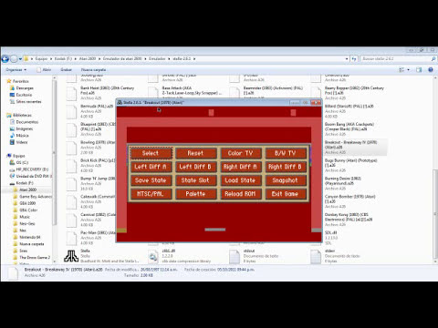 Black Tutorial: Descarga el emulador de Atari 2600 (Stella 2.6.1)
