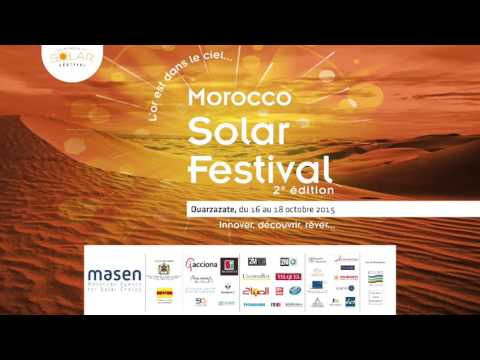 L'ADEREE à la 2ème édition du Morocco Solar Festival sur Atlantic Radio