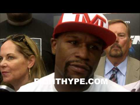 FLOYD MAYWEATHER SAYS TIMING IS MORE IMPORTANT THAN SPEED AGAINST MARCOS MAIDANA