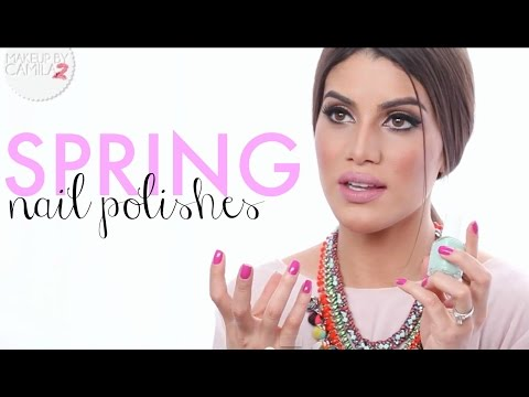 Best Nail Polish - Spring Nails - Nail color   Makeup Tutorial & Beauty Reviews   Camila Coelho