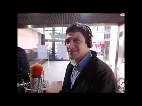 Davide C.M.Ortisi a Radio Atlanta Milano