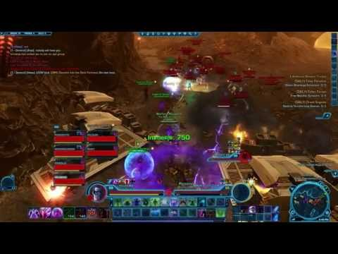 Republic Raid on Imperial Oupost on Oricon - IMP POV - Tomb of Freedon Nadd