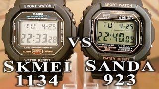 Skmei 1134 vs Sanda 329 comparison/review #64