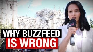 "Notre Dame Cathedral fire: Buzzfeed FAILS with ""anti-Muslim narrative"" 