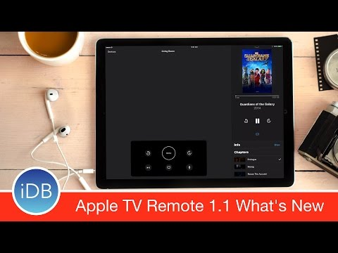 Apple TV Remote Updated with iPad, Lyric, Chapter Support and More