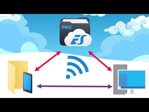 Como transferir arquivos do PC para Android via WIFI | PARADROPS #19