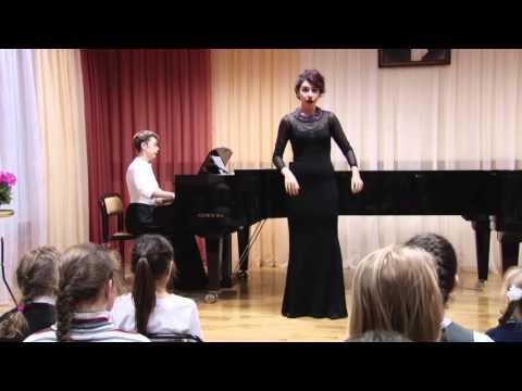 """В.А. Моцарт. Ария Нинетты из оперы """"Мнимая простушка"""""""