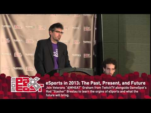 eSports: Past, Present, Future Panel (PAX EAST 2013)
