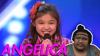 Angelica Hale - First Audition [MUSIC REACTION]