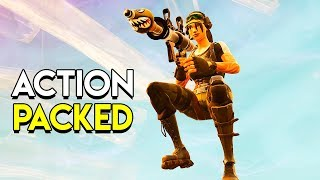 ACTION PACKED! - Fortnite: Battle Royale