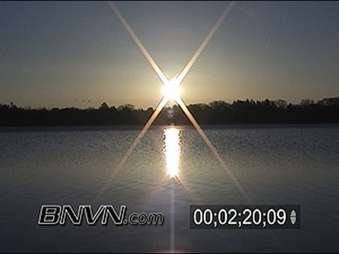 General sunrise and sunset video