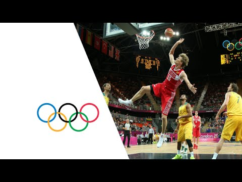Basketball Men's Prel. Round Group B - Australia v Russian Fed. Replay - London 2012 Olympic Games