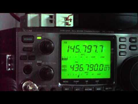 International Space Station  EA/RW3WW-RS0ISS