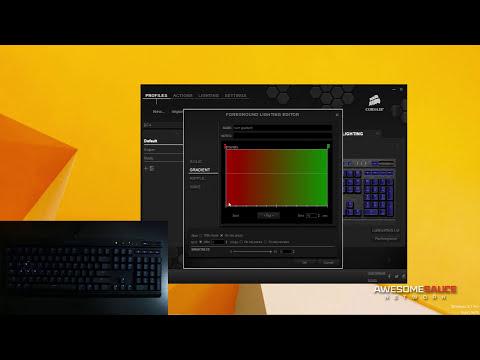 Corsair K70 RGB - Extensive Software Walkthrough