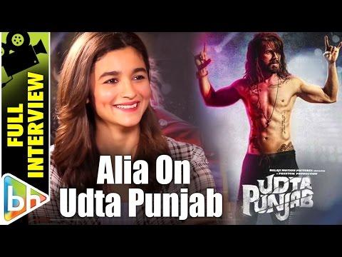 Alia Bhatt | Udta Punjab | Full Interview | Censor Board | Gauri-SRK Film | Rapid Fire