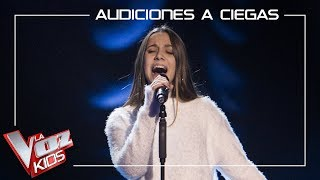 Laura Valle canta 'I will be' | Audiciones a ciegas | La Voz Kids Antena 3 2019