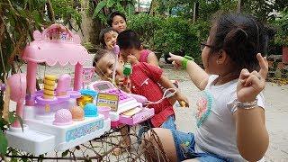Trò Chơi Bán Kẹo Kem – Game Sell The Candy Cream ❤ ChiChi ToysReview TV ❤ Đồ Chơi Trẻ Em