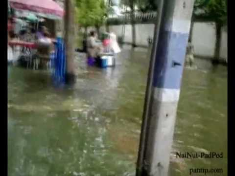 Thailand flood 2011 : Thraprajan 30/10/2554