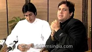 Amitabh Bachchan and Govinda Bollywood film Bade Miyan Chote Miyan