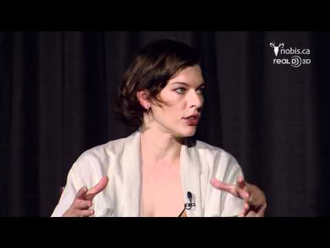 Resident Evil: Retribution - Webchat with Milla Jovovich