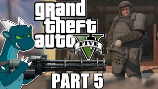 GTA V Grand Theft Auto 5 Story FULL GAMEPLAY Let's Play First Playthrough Walkthrough Part 5