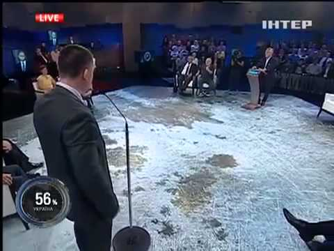 Дуэль Гонопольский Михальчишин на программе Шустера