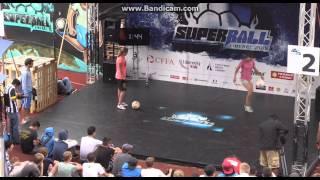 SuperBall 2015 Female battles - Jasmijn vs Martina