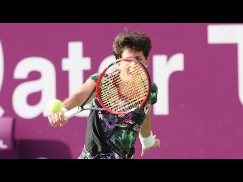 2016 Qatar Total Open Quarterfinal | Carla Suarez Navarro vs Elena Vesnina | WTA Highlights