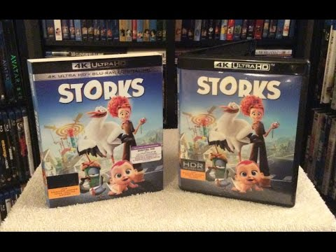 Ultra hd 4k storks all movie clips babies animation 2016