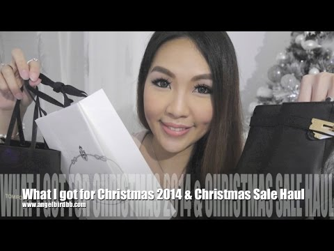 What I got for Christmas 2014+Christmas Sale Haul♥  Angelbirdbb
