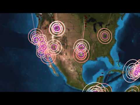 Earthquake Activity in Yellowstone National Park