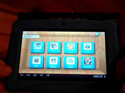 ClickN Kids Tablet Video Review - Includes Looney Tunes Phonics Preview