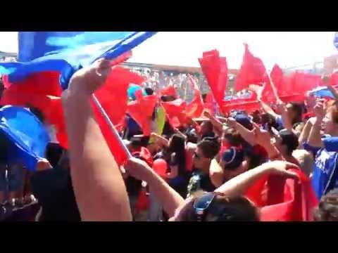 Salida U de Chile vs Zorras / Los de Abajo 2014