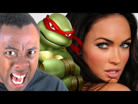 MEGAN FOX is APRIL O'NEIL - Black Nerd Rants