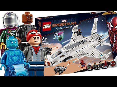 LEGO Spider-Man Far From Home sets! Best Marvel set of 2019!