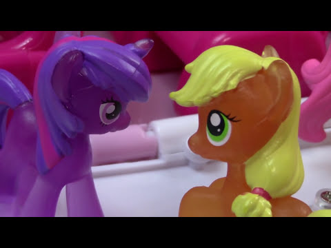 MLP Airplane Airport - Call For Help - My Little Pony Travel Part 13 Pinkie Pie Series Video