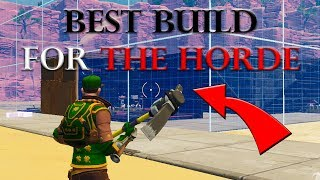 How To Properly Build The Fort - Setup For The Horde Challenge Tutorial (Fortnite Save The World)